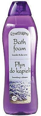"""Bubble Bath """"Lavender & Aloe Vera"""" - Bluxcosmetics Naturaphy Lavender & Aloe Vera Bath Foam"""