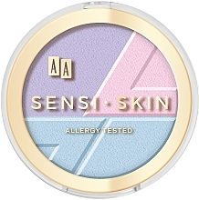 Fragrances, Perfumes, Cosmetics Face Contour 3 in 1 - AA Sensi Skin 3In1 Holographic Set