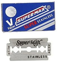 Fragrances, Perfumes, Cosmetics Razor Blades, 10pcs - Super-Max Super Stainless DE Razor Blades