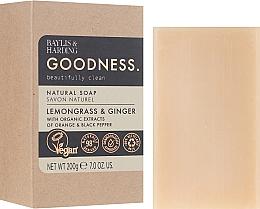 Fragrances, Perfumes, Cosmetics Soap - Baylis & Harding Goodness Sea Lemongrass & Ginger Natutal Soap