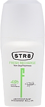Fragrances, Perfumes, Cosmetics Roll-On Antiperspirant - STR8 Fresh Recharge Antiperspirant Deodorant Roll-on