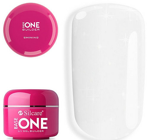 Nail Extension Gel - Silcare Base One Shining