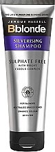 Fragrances, Perfumes, Cosmetics Sulphate Free Silverising Shampoo - Jerome Russell Bblonde Silverising Sulphate Free Brightening Shampoo