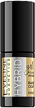 Fragrances, Perfumes, Cosmetics Nail Hybrid Base Coat - Eveline Cosmetics Hybrid Professional Base Coat