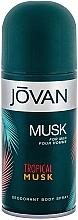 Fragrances, Perfumes, Cosmetics Jovan Tropical Musk - Deodorant