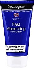 Fragrances, Perfumes, Cosmetics Hand Cream - Neutrogena Fast Absorbing Hand Cream
