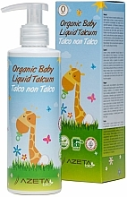 Fragrances, Perfumes, Cosmetics Organic Baby Cream with Liquid Talc - Azeta Bio Organic Baby Liquid Talcum