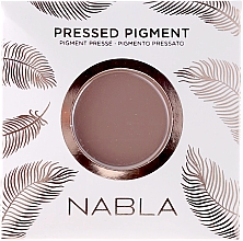 Fragrances, Perfumes, Cosmetics Matte Eyeshadow - Nabla Pressed Pigment Feather Edition Matte Refill Eyeshadow (refill)