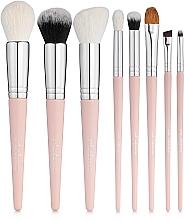 Fragrances, Perfumes, Cosmetics Must Have Pink Makeup Brush Set, 8 pcs - Colordance
