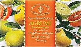 """Fragrances, Perfumes, Cosmetics Natural Soap """"Citrus"""" - Saponificio Artigianale Fiorentino Citrus Scented Soap"""