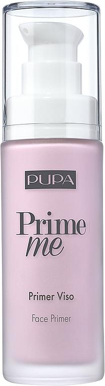 Yellow Color-Correcting Primer - Pupa Prime Me Corrective Face Primer