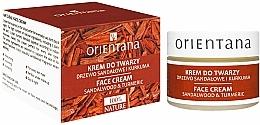 "Fragrances, Perfumes, Cosmetics Face Cream ""Sandalwood and Turmeric"" - Orientana Face Cream Sandalwood & Turmeric"