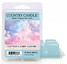 Fragrances, Perfumes, Cosmetics Wax Melts - Country Candle Wax Melt Cotton Candy Clouds