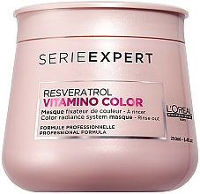 Fragrances, Perfumes, Cosmetics Hair Mask for Color-Treated Hair - L'Oreal Professionnel Serie Expert Vitamino Color Resveratrol Mask