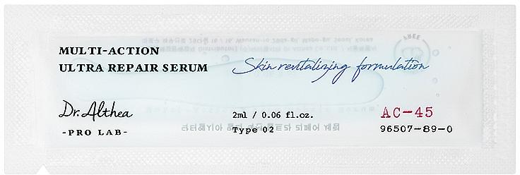 Face Serum - Dr. Althea Pro Lab Multi-Action Ultra Repair Serum — photo N2