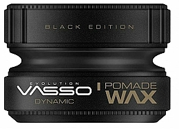 Fragrances, Perfumes, Cosmetics Hair Styling Pomade - Vasso Professional Hair Styling Pomade Wax Black Edition Dynamic