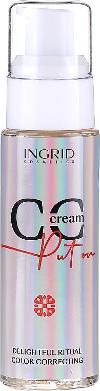 CC Cream - Ingrid Cosmetics CC Cream Put On Delightful Ritual Color Correcting