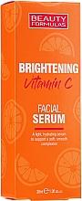 Fragrances, Perfumes, Cosmetics Brightening Vitamin C Facial Serum - Beauty Formulas Brightening Vitamin C Facial Serum