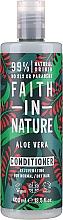 "Fragrances, Perfumes, Cosmetics Normal and Dry Hair Conditioner ""Aloe Vera"" - Faith In Nature Aloe Vera Conditioner"