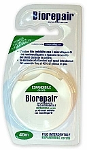 Fragrances, Perfumes, Cosmetics Expanding Waxed Dental Floss - Biorepair Floss Expandible Waxed