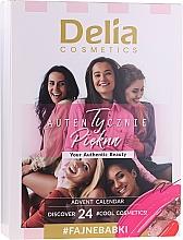 Fragrances, Perfumes, Cosmetics Makeup Set - Delia Cosmetics Advent Calendar 2020/2021