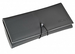 Fragrances, Perfumes, Cosmetics Case with Rubber Band for 6 Hairdresser Combs - Lussoni