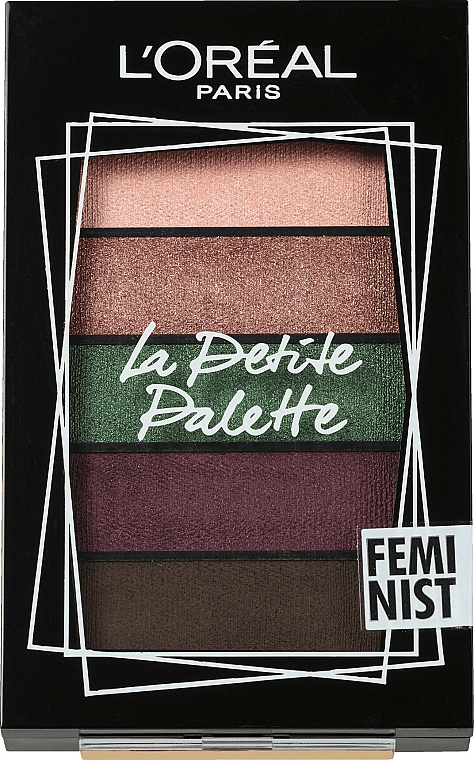 Eyeshadow Palette - L'Oreal Paris La Petite Palette Feminist Eyeshadow