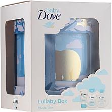 Fragrances, Perfumes, Cosmetics Set - Dove Baby Rich Moisture (shmp/200ml + b/lot/200ml + cr/45g)