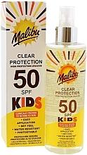 Fragrances, Perfumes, Cosmetics Kids Sunscreen Spray - Malibu Kids Clear Protection Spray SPF 50