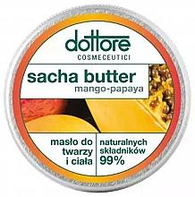 Fragrances, Perfumes, Cosmetics Mango & Papaya Face & Body Butter - Dottore Sacha Butter Mango-Papaya