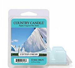 Fragrances, Perfumes, Cosmetics Aroma Lamb Wax - Country Candle Cotton Fresh Wax Melts