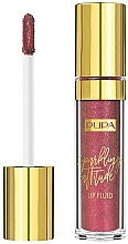 Fragrances, Perfumes, Cosmetics Sparkling Liquid Lipstick - Pupa Sparkling Attitude Lip Fluid (Rose Gold Fever)