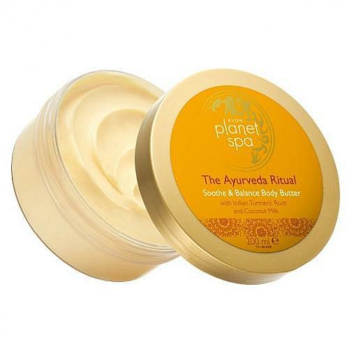 "Body Oil ""Ayurvedic Ritual"" - Avon Planet Spa The Ayurveda Ritual Soothe & Balance Body Butter"