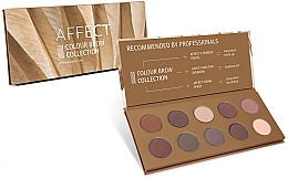 Fragrances, Perfumes, Cosmetics Pressed Brow Shadow Palette - Affect Cosmetics Color Brow Collection