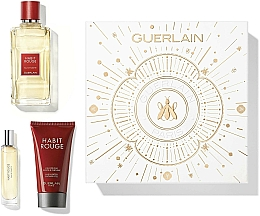 Fragrances, Perfumes, Cosmetics Guerlain Habit Rouge - Set (edt/100ml + sh/gel/75ml + edt/10ml)