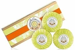 "Fragrances, Perfumes, Cosmetics 3 Perfumed Soaps Set ""Osmanthus"" - Roger & Gallet Fleur D'Osmanthus Perfumed Soaps (soap/3x100g )"