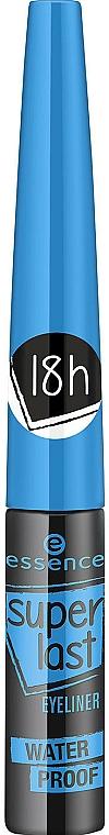 Liquid Waterproof Eyeliner - Essence SuperLast Eyeliner Waterproof