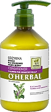 Fragrances, Perfumes, Cosmetics Liquorice Extract Hair Conditioner for Sensitive Scalp - O'Herbal