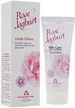 Fragrances, Perfumes, Cosmetics Hand Cream - Bulgarian Rose Rose & Joghurt