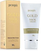 Fragrances, Perfumes, Cosmetics Gold Neck and Decollete Cream - Petitfee & Koelf Gold Neck Cream
