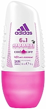 Fragrances, Perfumes, Cosmetics Roll-On Deodorant - Adidas Anti-Perspirant 6 in 1 Cool&Care 48h