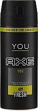 Fragrances, Perfumes, Cosmetics Deodorant-Spray - Axe You Fresh Deodorant Spray