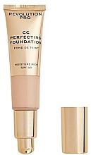 Fragrances, Perfumes, Cosmetics CC-Cream - Revolution Pro CC Cream Perfecting Foundation SPF 30