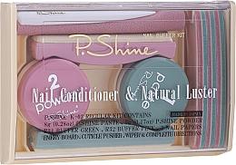 Fragrances, Perfumes, Cosmetics Set - P.Shine (n/paste/8g + n/puder/5g + n/pol/5pcs + n/file/1pcs + n/acc/1pcs)