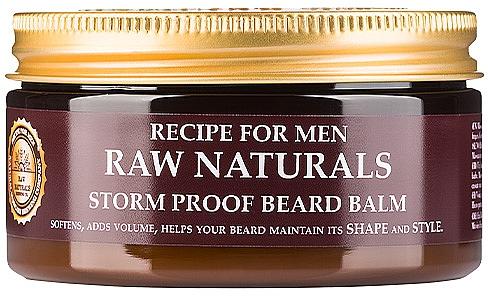 Balm for Beards - Recipe For Men RAW Naturals Storm Proof Beard Balm