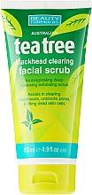 "Fragrances, Perfumes, Cosmetics Anti-Wrinkle Face Scrub ""Tea Tree"" - Beauty Formulas Tea Tree Facial Scrub"