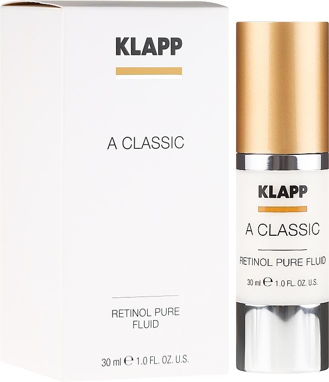 "Face Emulsion ""Pure Retinol"" - Klapp A Classic Retinol Pure Serum"