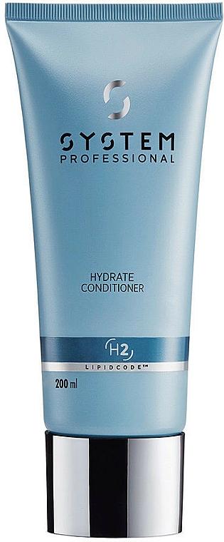 Moisturizing Conditioner - System Professional Lipidcode Hydrate Conditioner H2 — photo N1