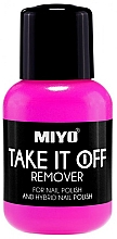 Fragrances, Perfumes, Cosmetics Nail Polish Remover - Miyo Take It Off Remover