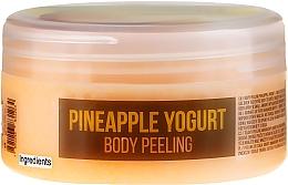 Fragrances, Perfumes, Cosmetics Pineapple Yogurt Body Scrub - Hristina Stani Chef's Pineapple Yogurt Body Peeling